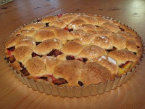 Stone Fruit Tea Cake