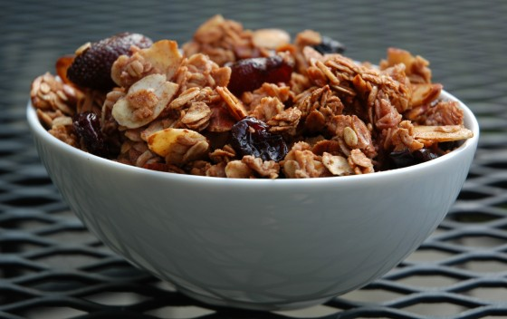 ... friendly version of this recipe, click here: Cranberry Almond Granola