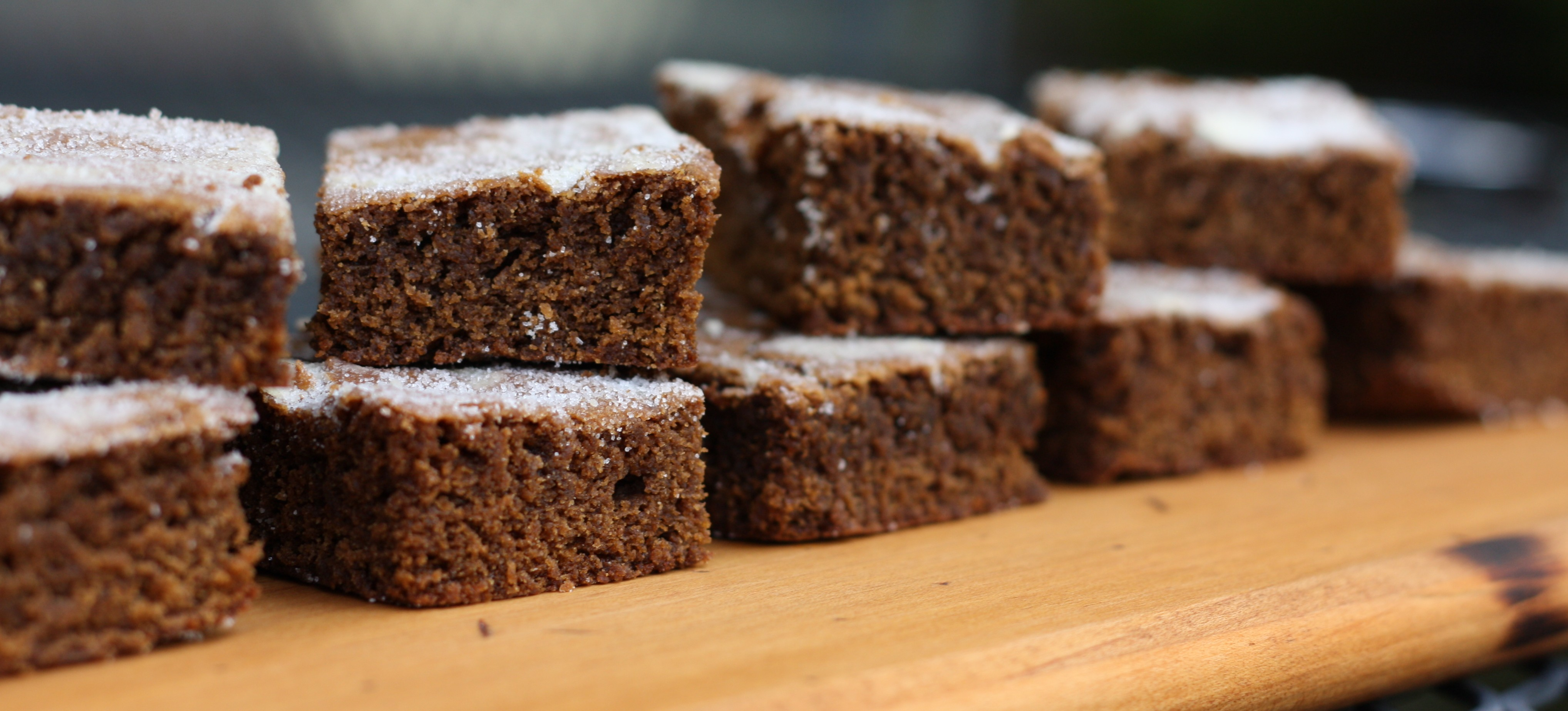 Gingerbread Bars | First Look, Then Cook