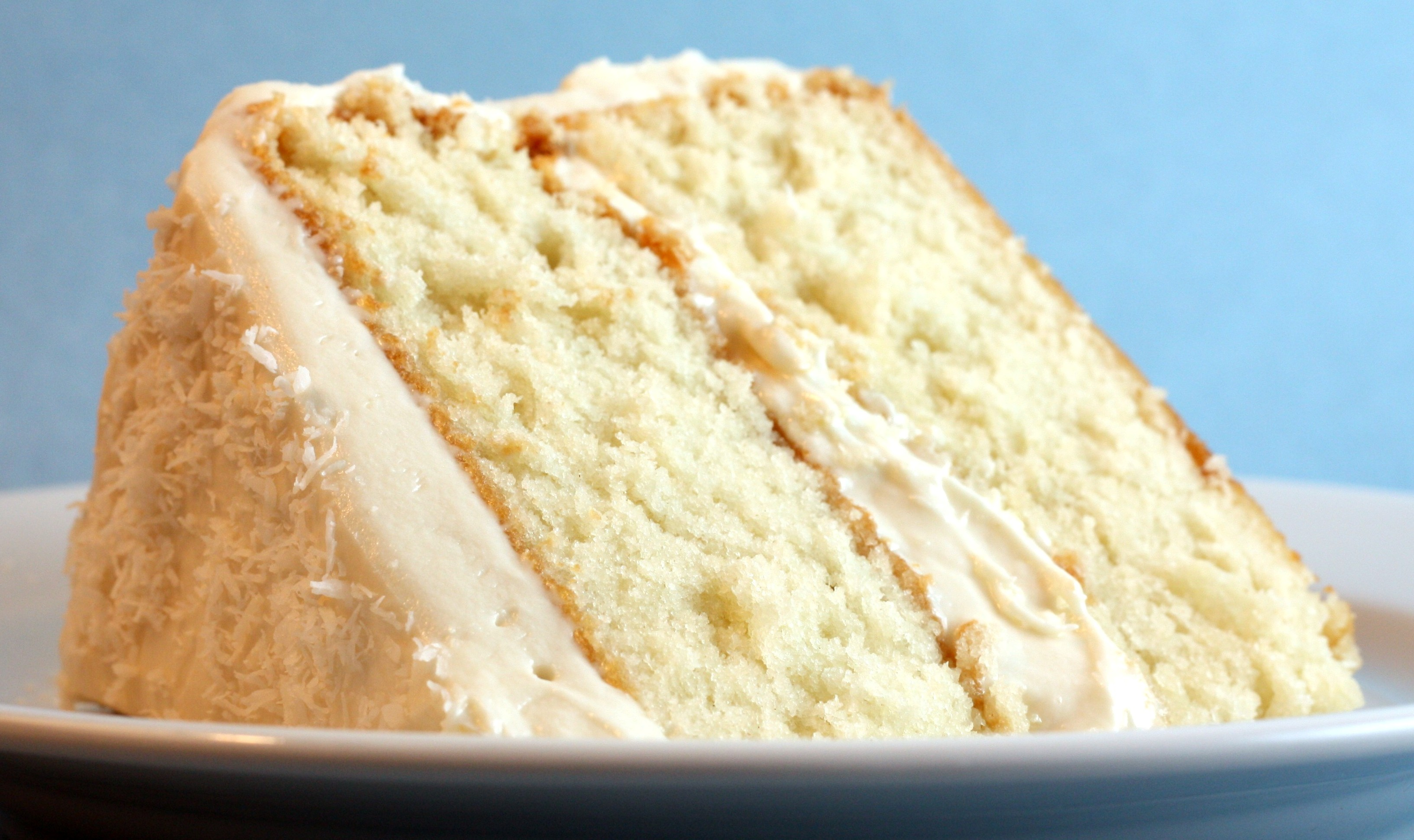Coconut Cake with Cream Cheese Frosting – First Look, Then Cook