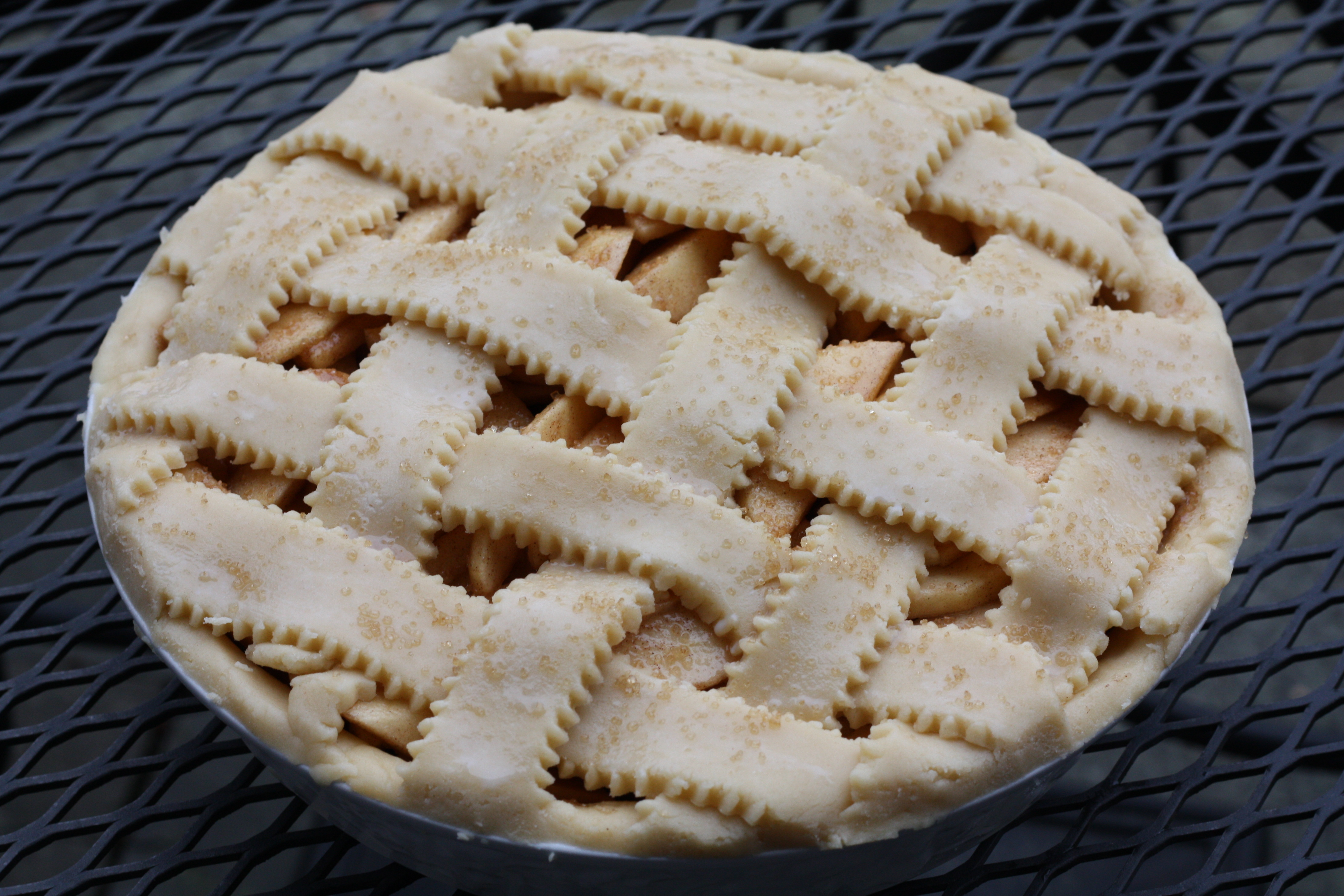 ... american apple pie an old fashioned apple spice cake peach lattice pie
