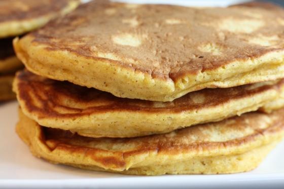 Pumpkin Pancakes | First Look, Then Cook