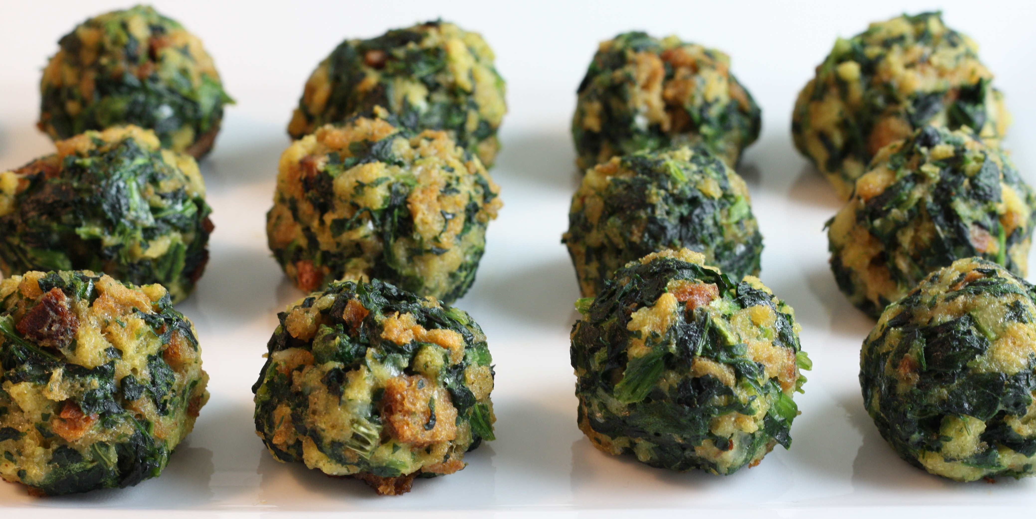 Spinach Balls | First Look, Then Cook
