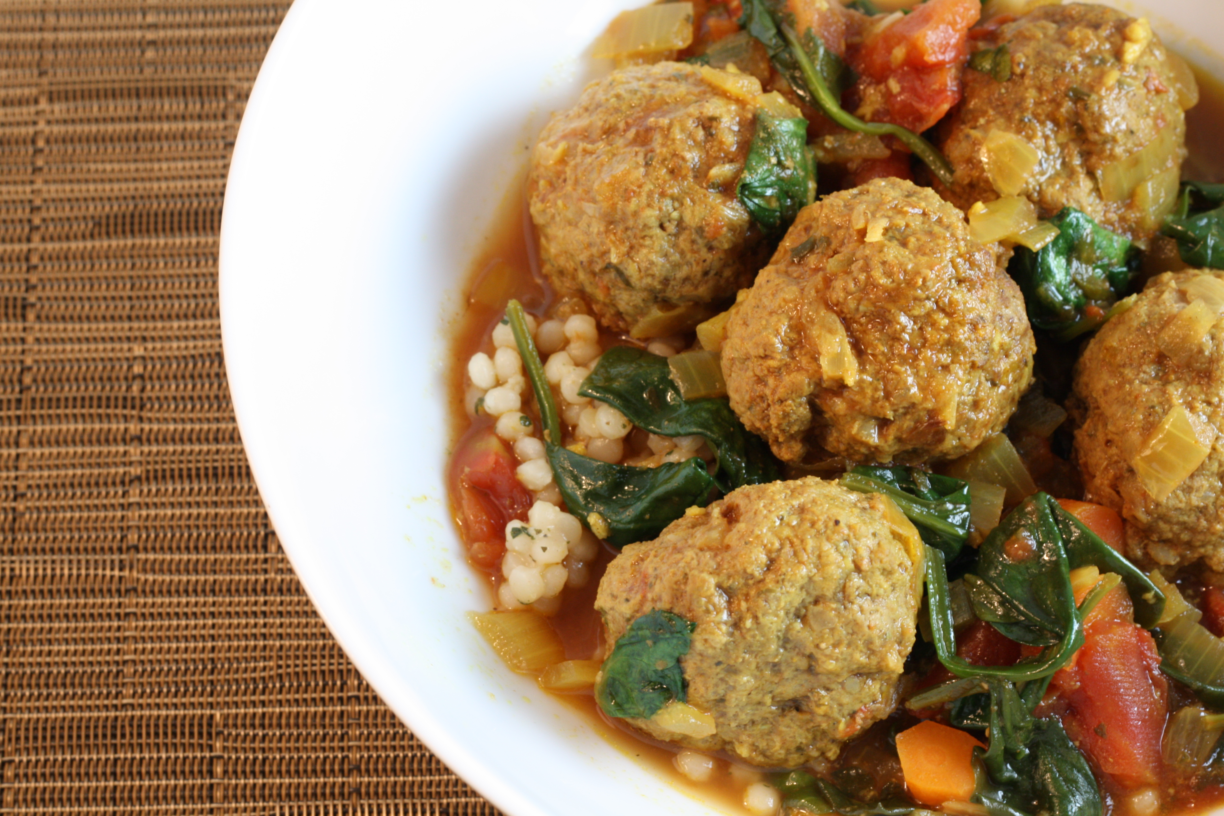 Moroccan Beef Meatball Tagine – First Look, Then Cook