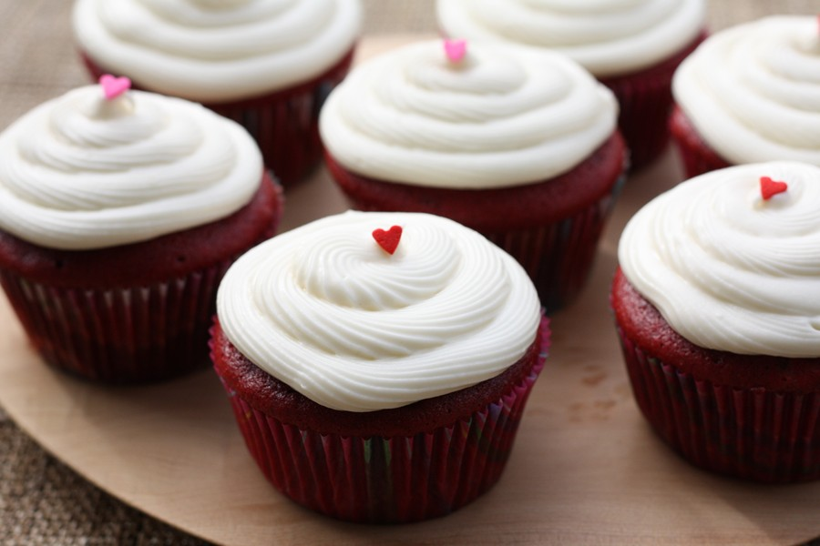 Red Velvet Cupcakes | First Look, Then Cook