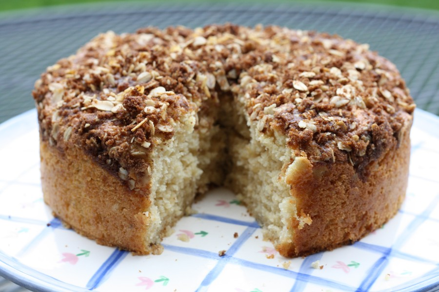 Sour Cream Coffee Cake | First Look, Then Cook