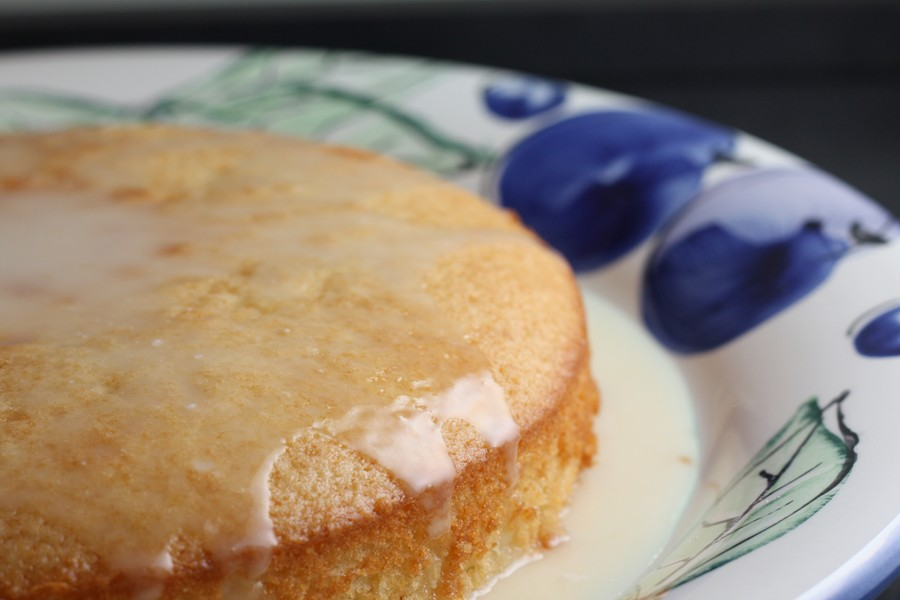 French-Style Yogurt Cake with Lemon | First Look, Then Cook