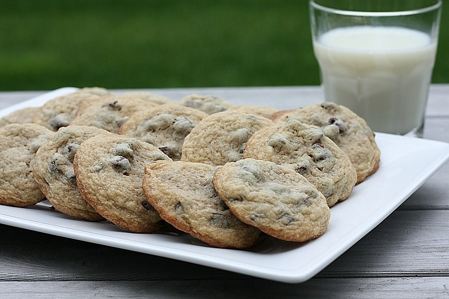 Soft and Chewy Chocolate Chip Cookies | First Look, Then Cook