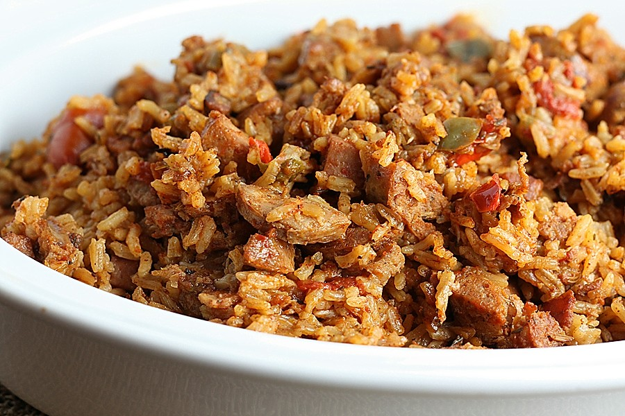 Chicken and Sausage Jambalaya – First Look, Then Cook