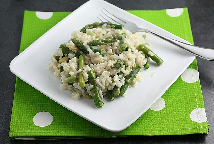with asparagus and spring risotto with ramps asparagus and mushroom ...
