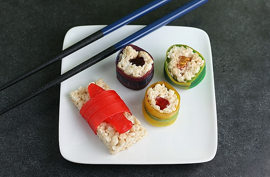 Candy Sushi First Look Then Cook
