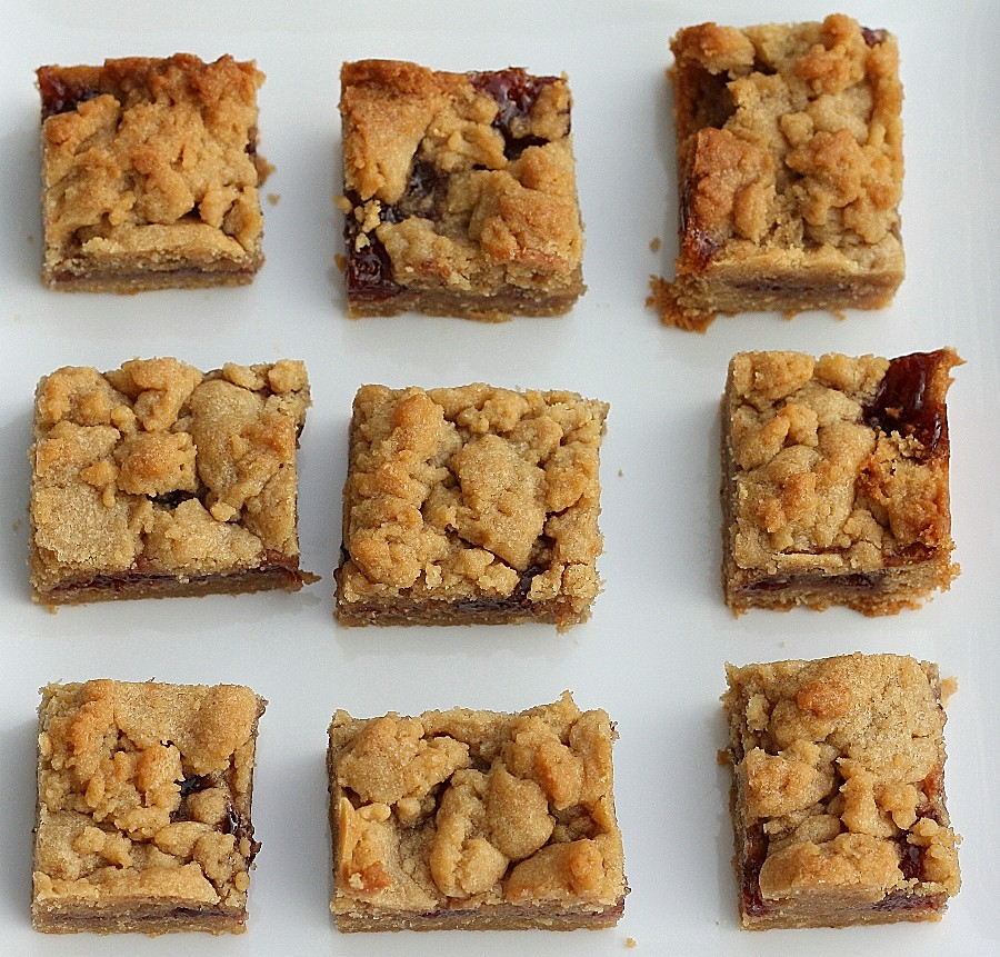Peanut Butter and Jelly Bars | First Look, Then Cook