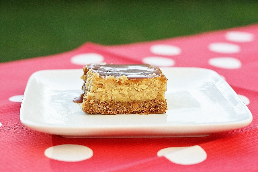 Dulce de Leche Cheesecake Bars | First Look, Then Cook