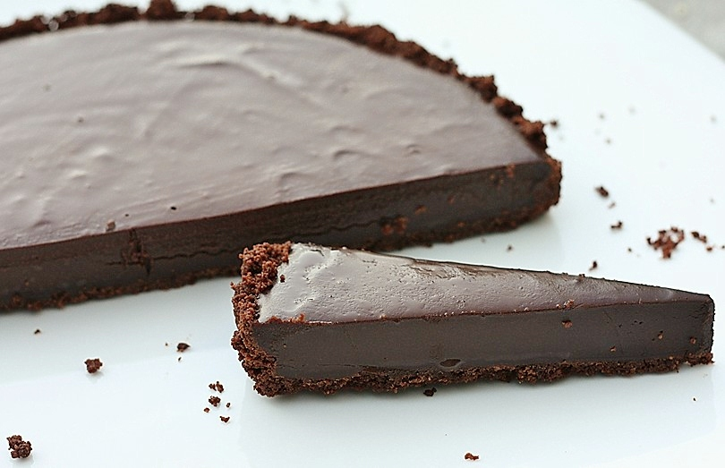 Double Chocolate Tart – First Look, Then Cook