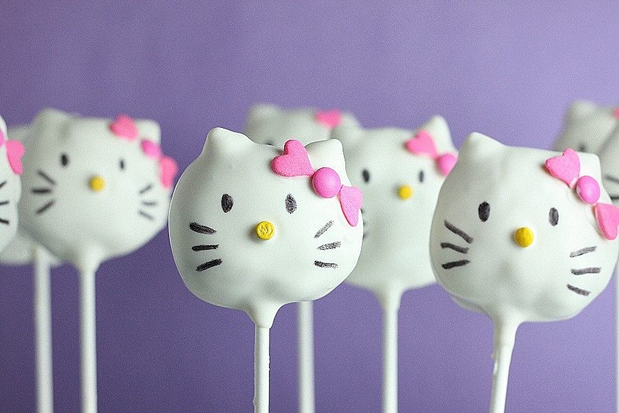 Hello Kitty Cake Pops First Look Then Cook