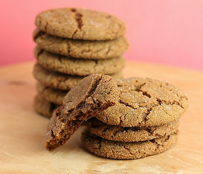 Gingersnap Cookies First Look Then Cook