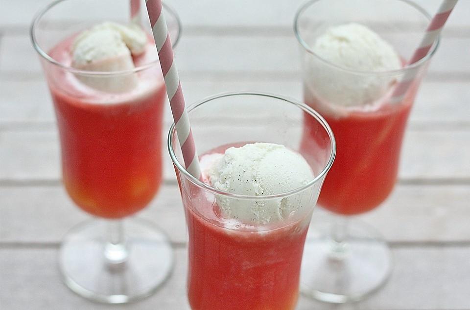 Melon Soda Float Recipe - Japan Centre