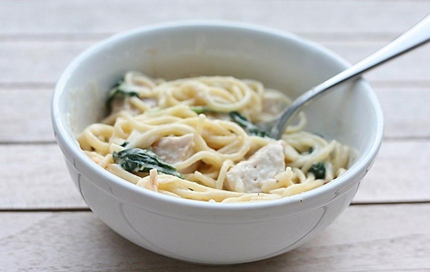Grilled Chicken Florentine Pasta – First Look, Then Cook