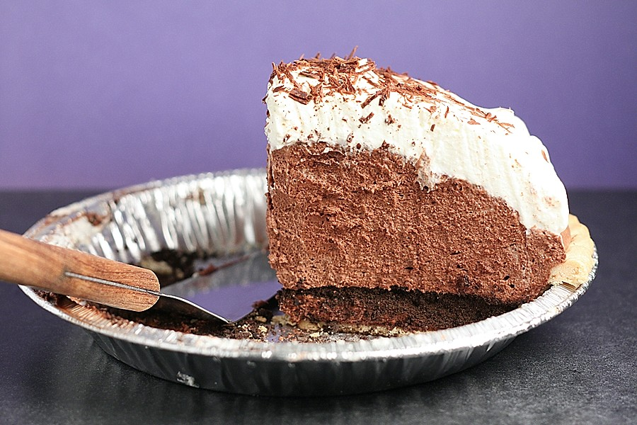 Mile-High Chocolate Pie | First Look, Then Cook