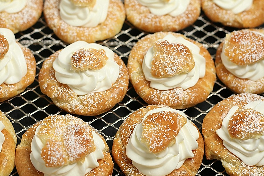how to make cream puffs at home