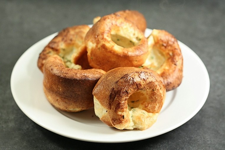 Chive and Black Pepper Popovers 2