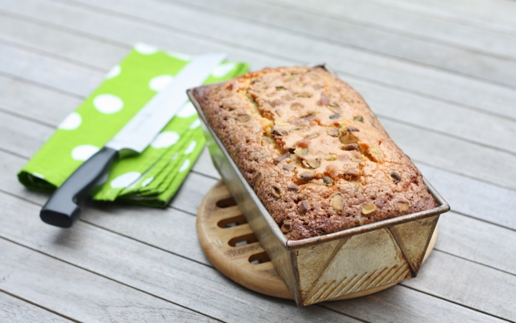 Pistachio Pound Cake | First Look, Then Cook