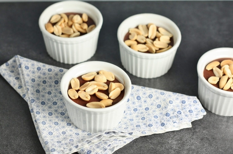 Chocolate Peanut-Butter Pudding