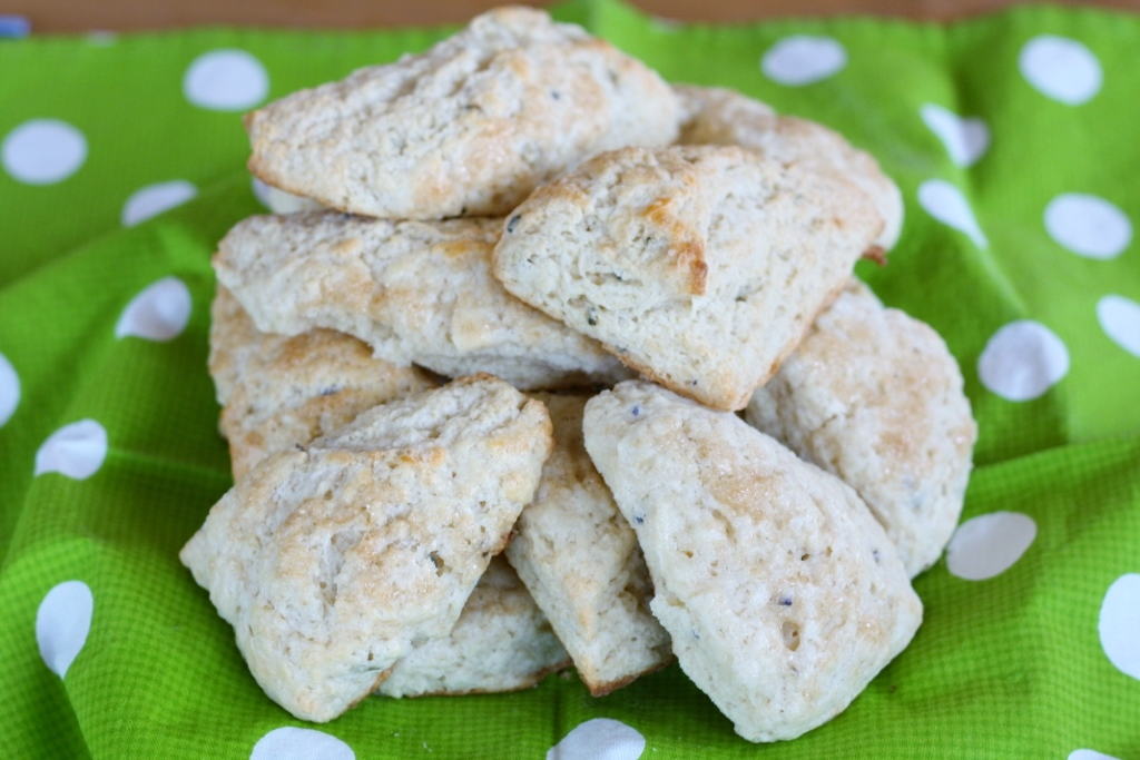 Sweet Lavender Scones | First Look, Then Cook