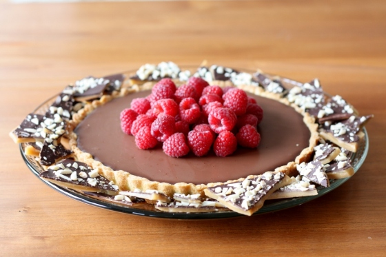 Chocolate-Caramel Tart 2