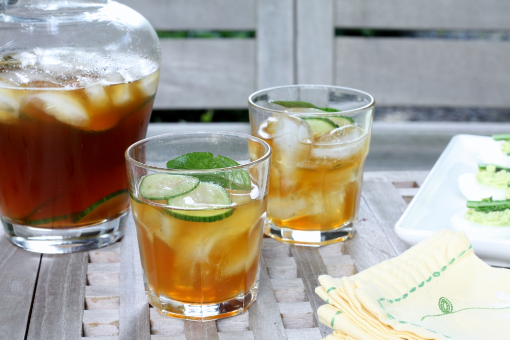 Cucumber Pimm's Cup | First Look, Then Cook