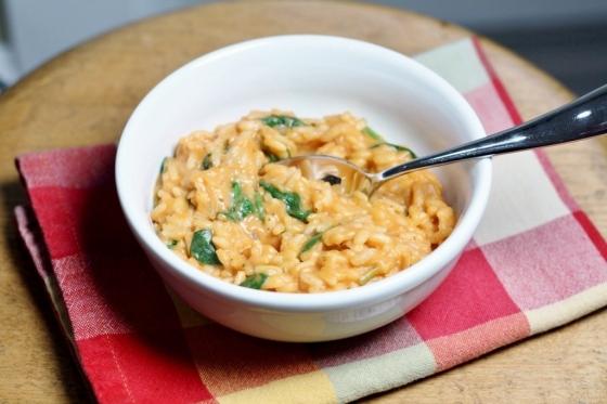 Tomato Mozzerella Risotto