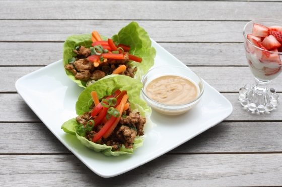 Turkey Lettuce Wraps 2