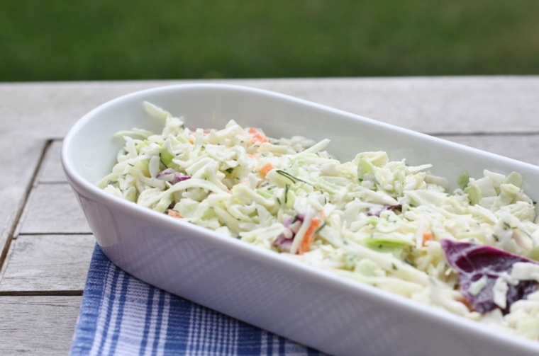 Easy Dill Cole Slaw