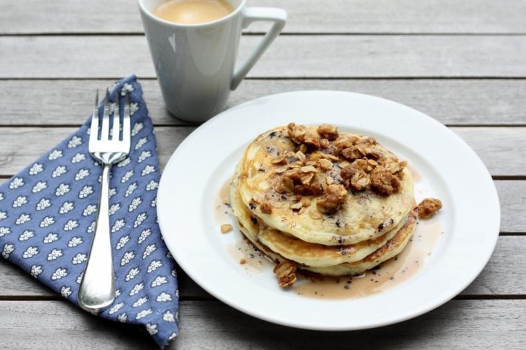 Blueberry Blossom Pancake