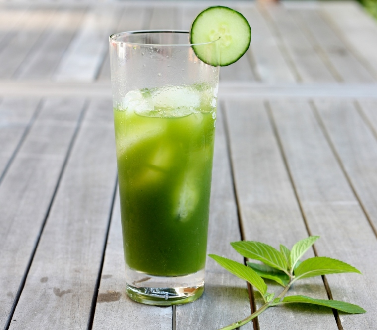Cucumber Mint Tequilla Cooler