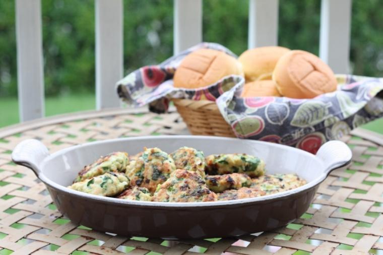 Chicken Sliders with Spinach