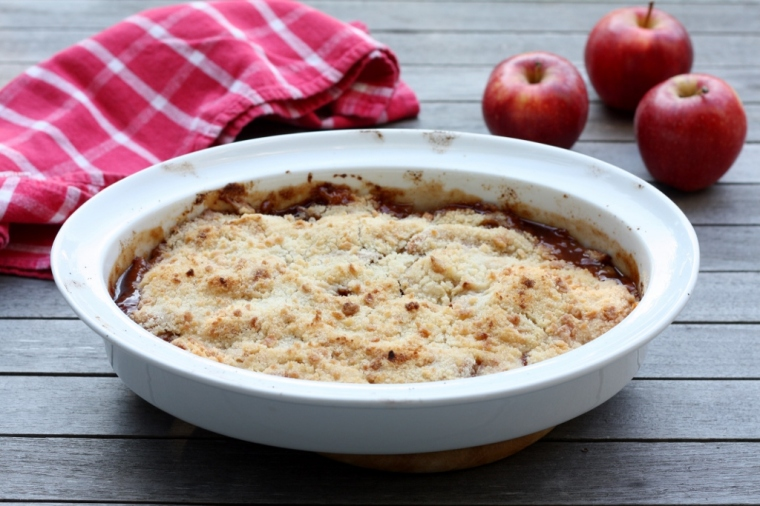Dairy-Free Apple Crisp