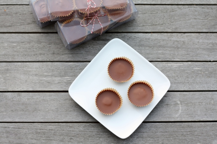 Milk Chocolate and Almond Butter Cups 2