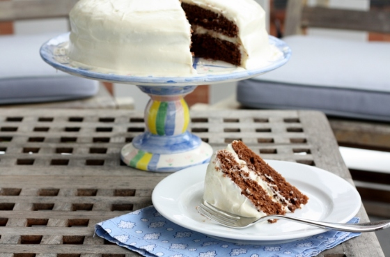 Chocolate Cake with Cream Cheese Frosting 2