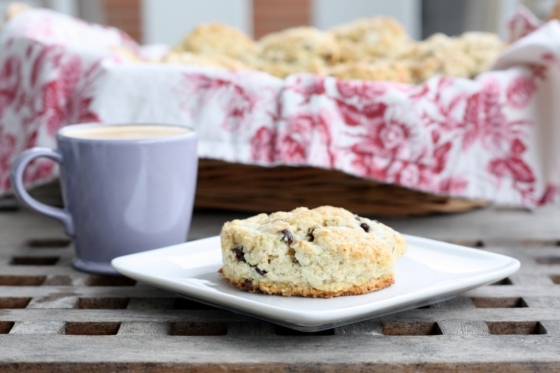 Oatmeal Chocolate Chip Scones