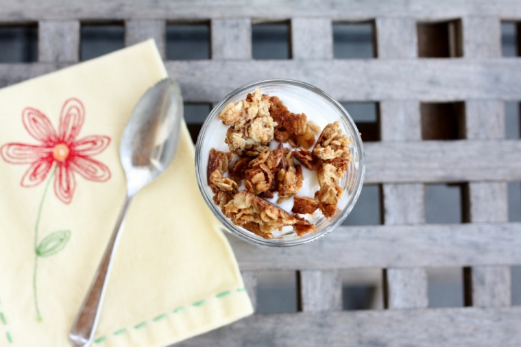 Peanut Butter Granola Crunch Parfairs