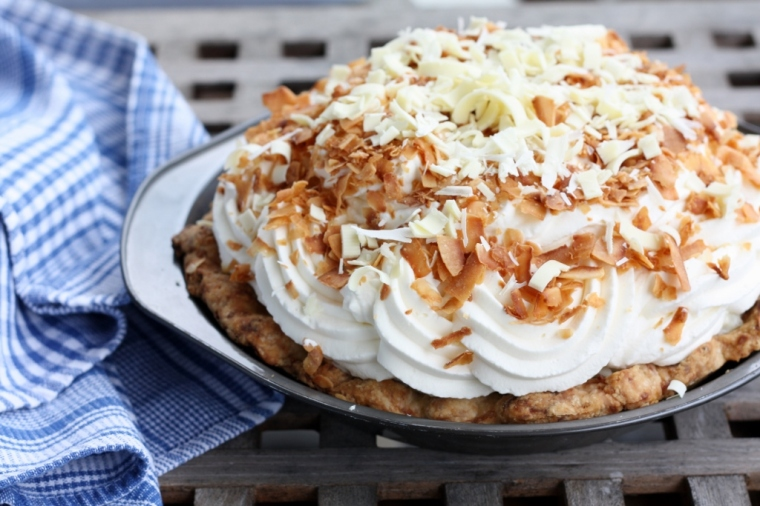 Dahlia Lounge Coconut Cream Pie