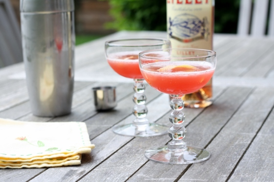 Grapefruit Rye Cocktail