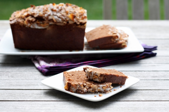 Chocolate Coconut Pound Cake 2