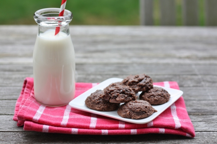 Double-Chocolate Cookies