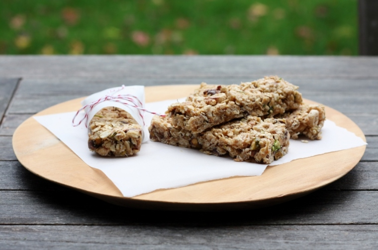 No-Bake Chewy Ganola Bars