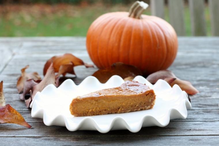 Pumpkin Caramel Tart