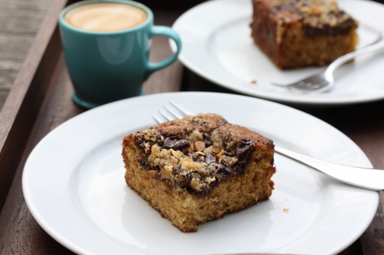 Almond-Chocolate-Espresso Coffee Cake 2