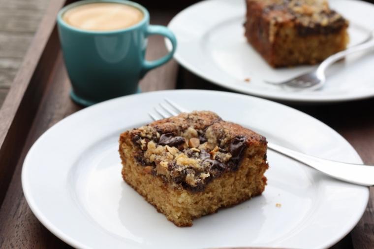 Almond-Chocolate-Espresso Coffee Cake 2